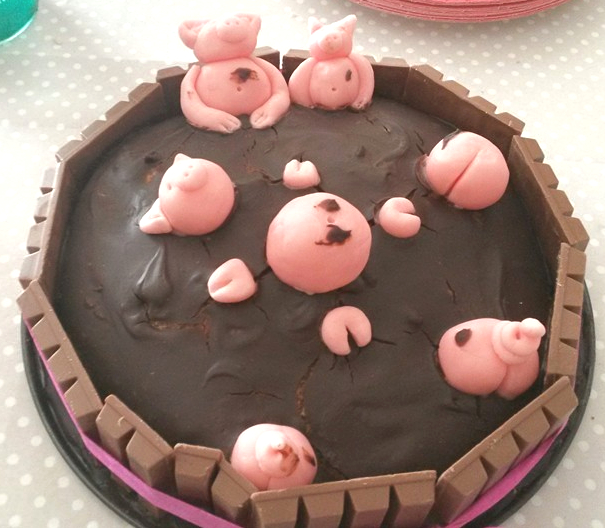 gâteau la mare aux cochons 2
