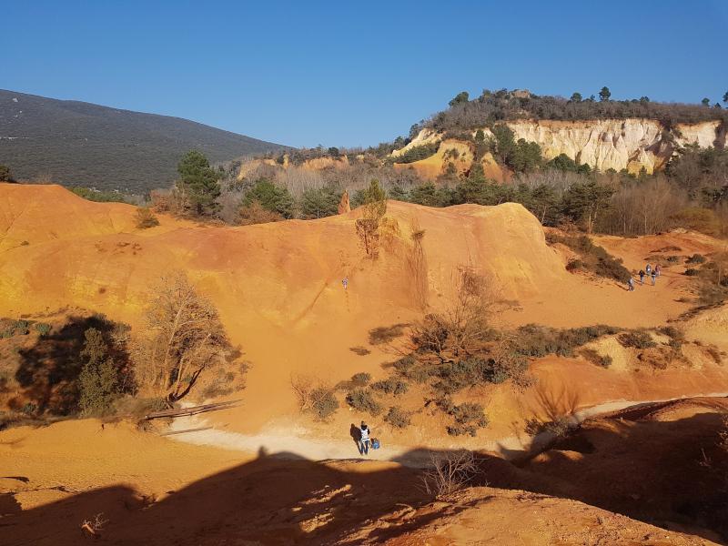 Escapade au Colorado Provençal de Rustrel
