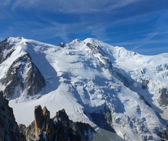 Mont-Blanc vue de l'Aiguille du Midi