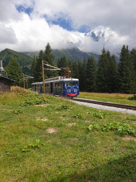 Plateau de Bellevue et tramway du Mont-Blanc