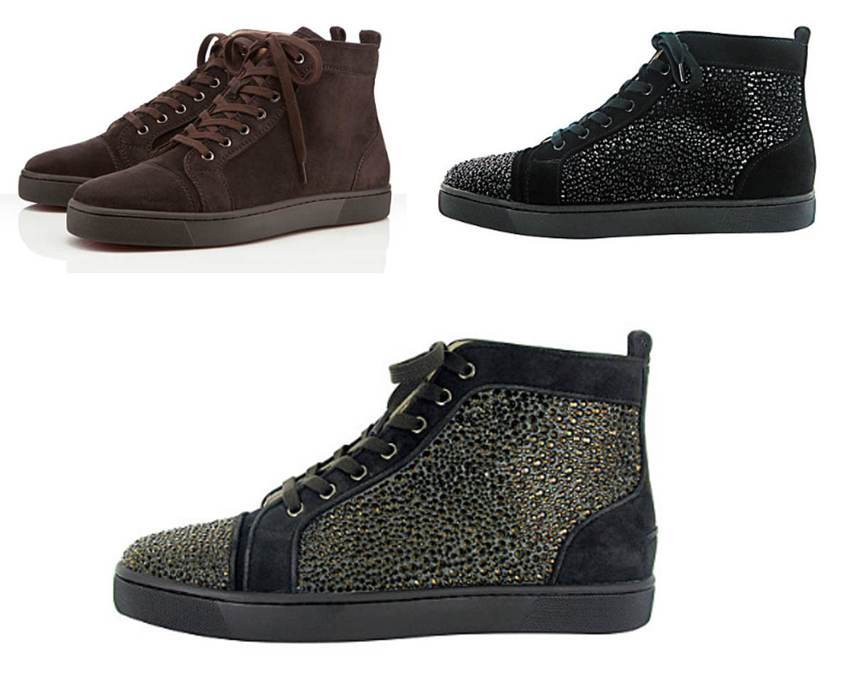 louboutin homme basse