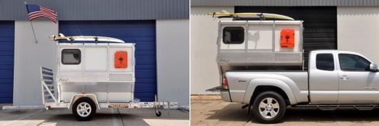 firefly le camping car pour pick up le blog des tendances. Black Bedroom Furniture Sets. Home Design Ideas