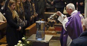 Renato Bialetti urne funérailles