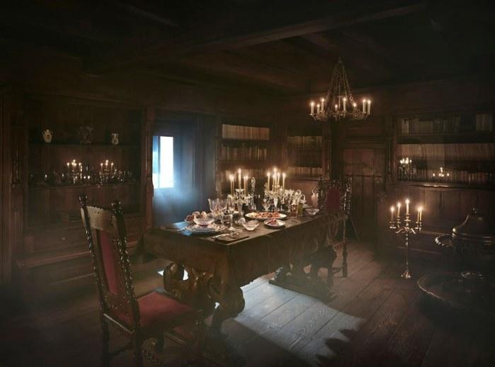 Halloween 2016 château de Dracula Airbnb