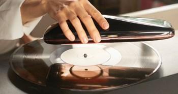 lecteur de vinyle intelligent et connecté LOVE