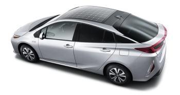 toit de voitures solaires Toyota prius