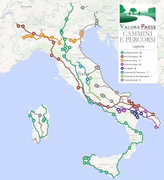 Italie offre ses châteaux et ses villas abandonnées