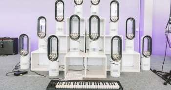 Acoustical Anatomy – Les produits Dyson deviennent des instruments de musique