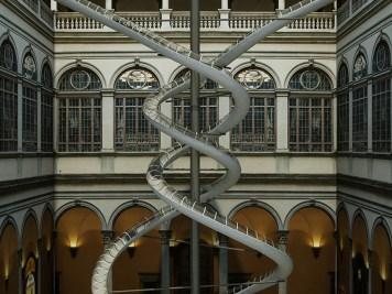 Carsten Höller dévoile son installation à double hélice au Palazzo Strozzi