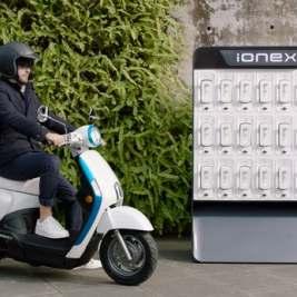 Ionex – Le dernier e-scooter de KYMCO propose un nouveau système de recharge de batterie