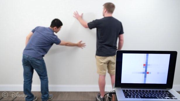 Cette peinture chargée d'électrodes transforme les murs en capteurs interactifs