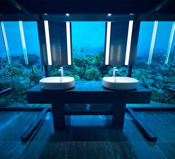 Muraka première villa sous-marine au monde