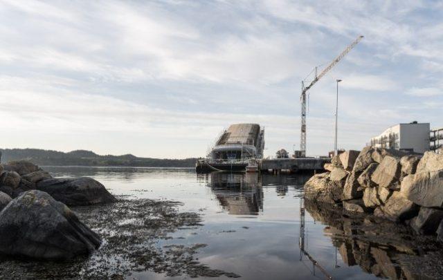 Le restaurant submergé de Snøhetta prend forme en Norvège