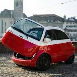 Microlino – La mini voiture arrive dans les rues Européeennes