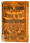 Cook's Timetable cover - Dec 1888