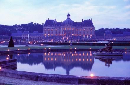 Ile de France: Jantar a luz de vela no castelo de Vaux le Vicomte