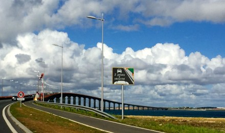 A Ponte da Ile de Ré para La Rochelle