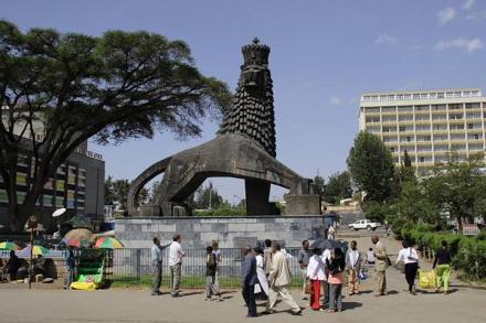 O Leão de Juda em Addis Abeba