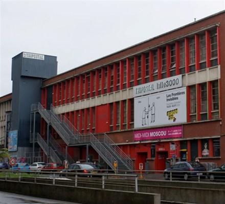 O centro dos correios de Lille