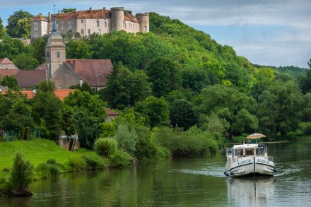 Navegando na Borgonha