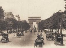 Os Champs Elysées na Belle Époque