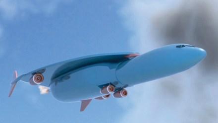 Avion fusée Airbus