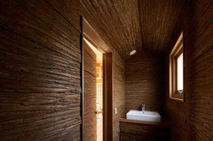 Os banheiros da Casa dos Cedros