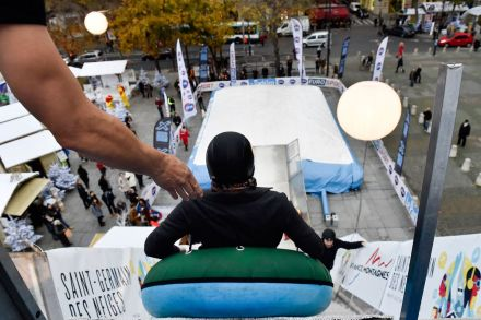 Big Air, uma das atividades gratuitas de Saint Germain des neiges