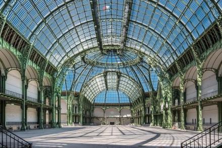 O Hall central do Grand Palais