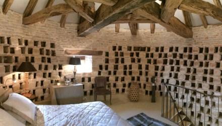 Quarto no Pombal do Château de Courban