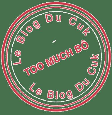 Tampon définitif TooMuchBô Rond rouge