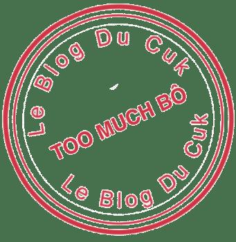 Tampon TooMuchBô Rond rouge