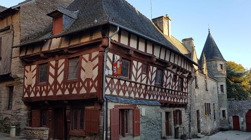 Maison à colombage   Morbihan - Le blog du hérisson