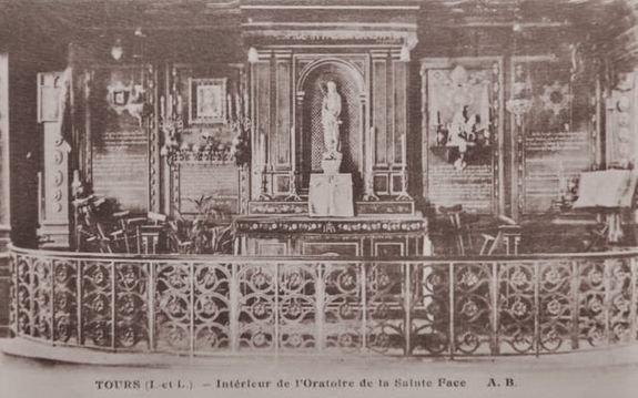 Oratoire de la Sainte Face à Tours dans son état originel
