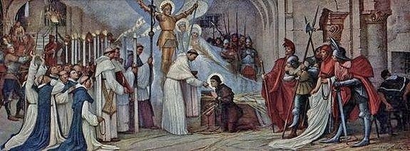La dernière communion de Sainte Jeanne d'Arc