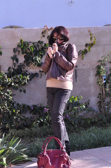 Look d'automne en Balsamik.