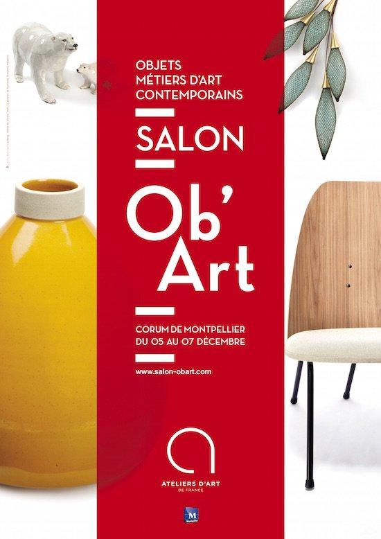 Salon OB'ART à Montpellier : l'artisanat à l'honneur.