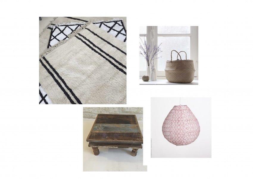 inspiration boh me chic. Black Bedroom Furniture Sets. Home Design Ideas