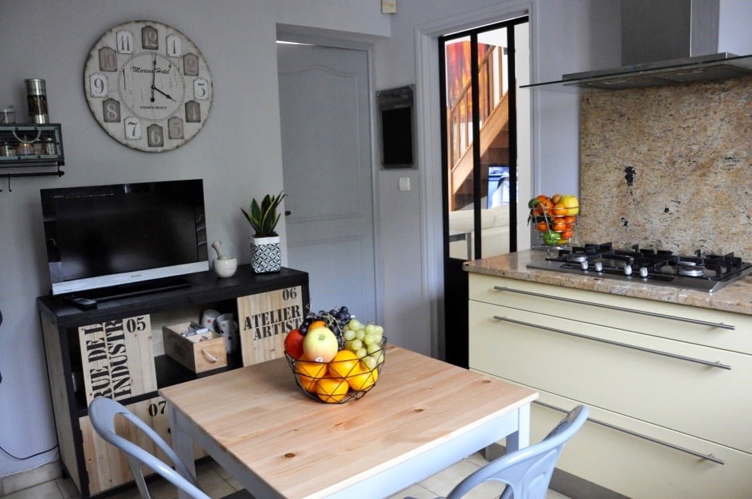 Ma cuisine style atelier d 39 artiste for Cuisine fenetre atelier
