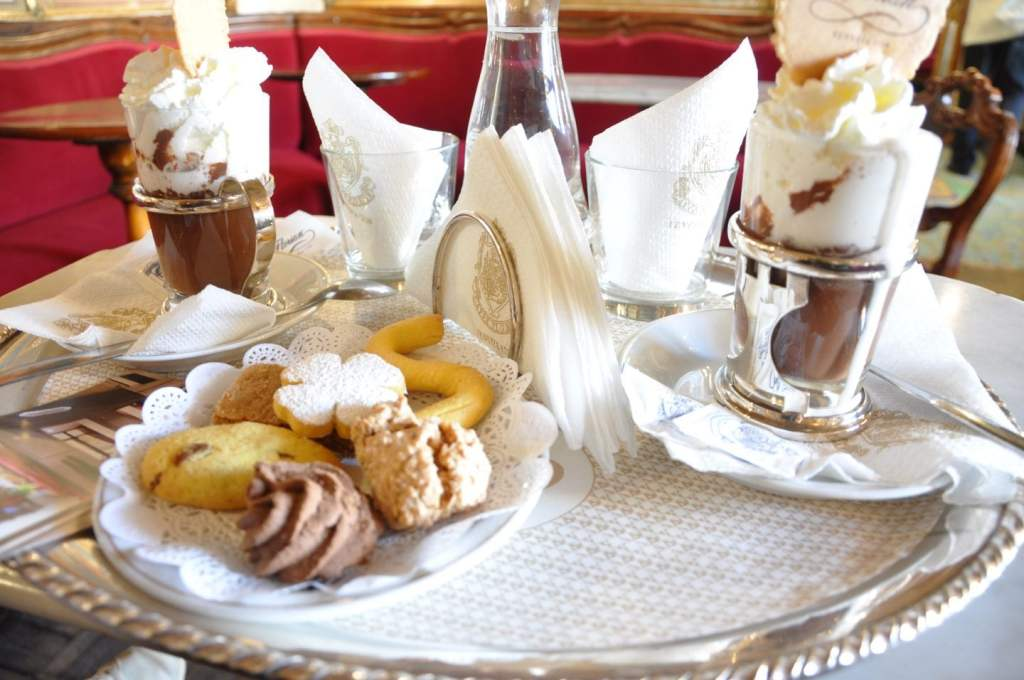 Chocolat chaud à Venise