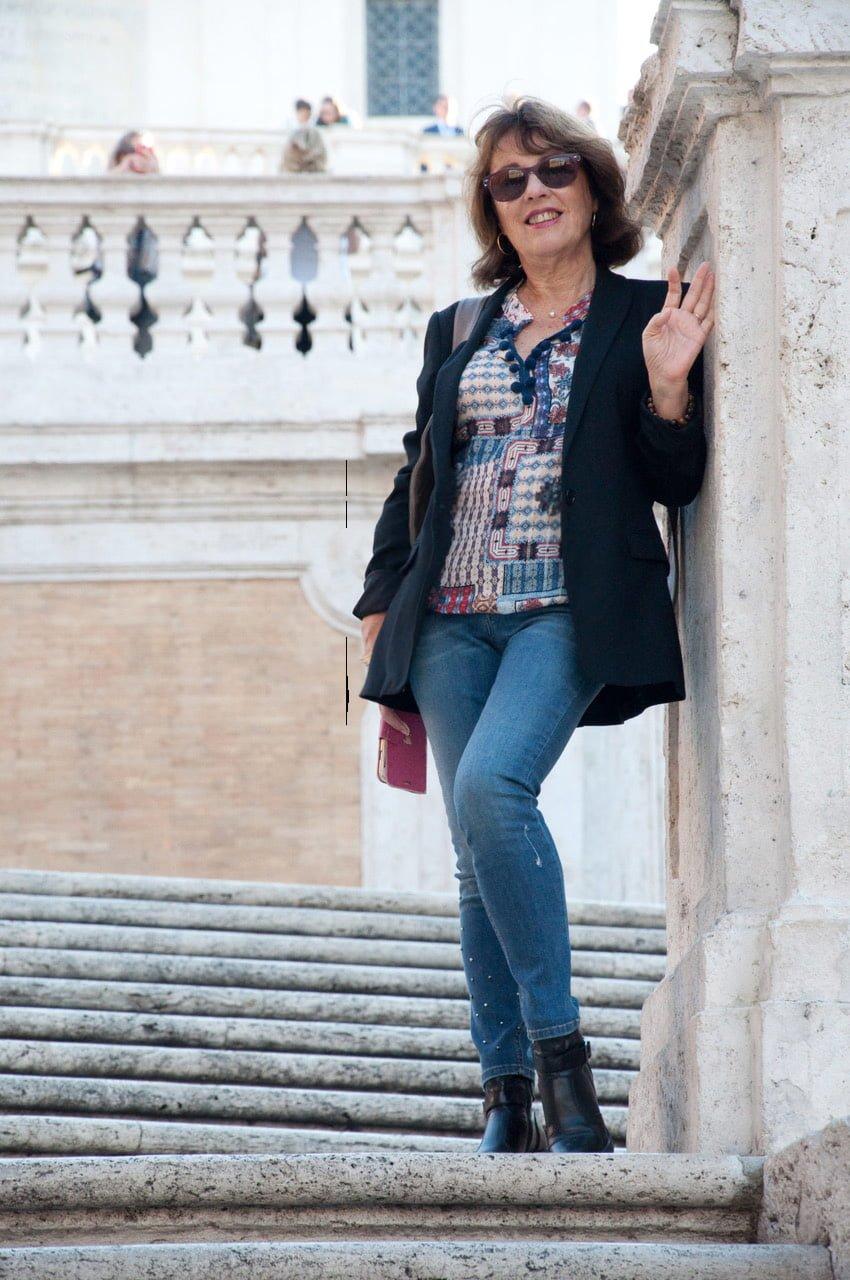 Mon interprétation du jean et de la blouse Elora