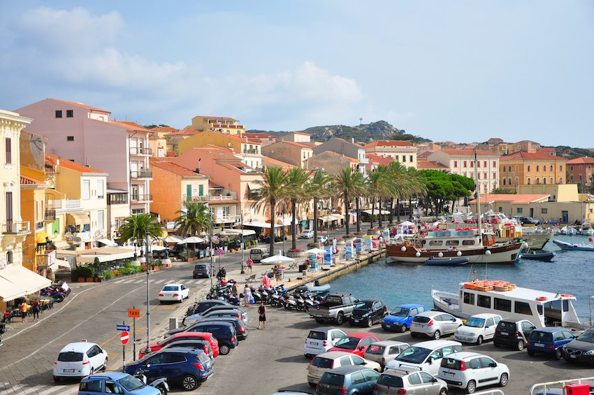 Le port de la Madalena