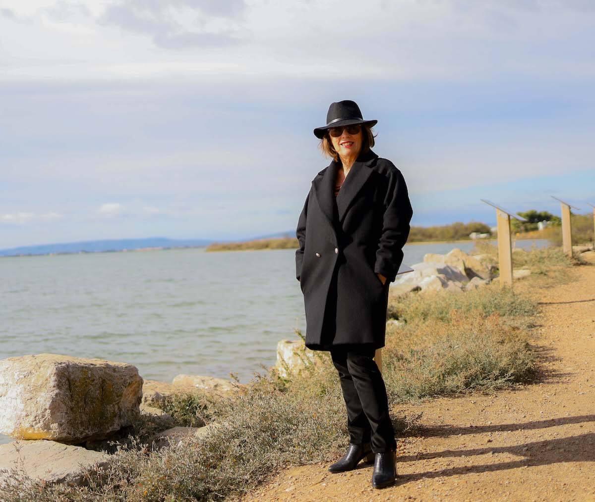 Manteau noir candice