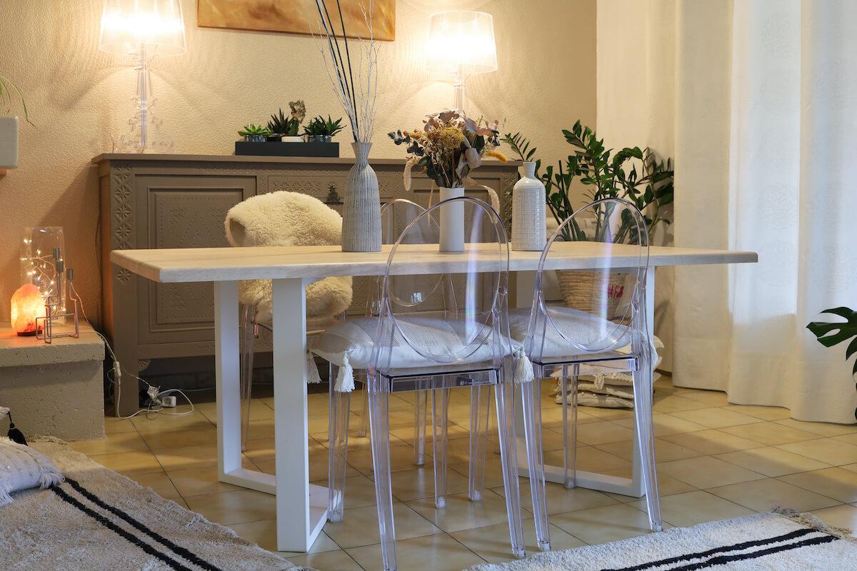 Créer une table avec la fabrique des pieds