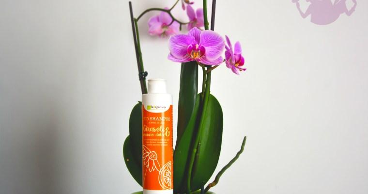 Shampoo girasole e arancio dolce, La Saponaria