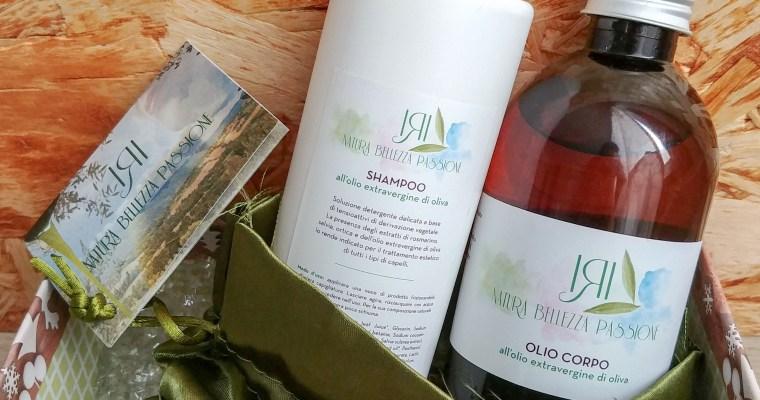 Shampoo nutriente e olio corpo idratante – Iri Cosmetica