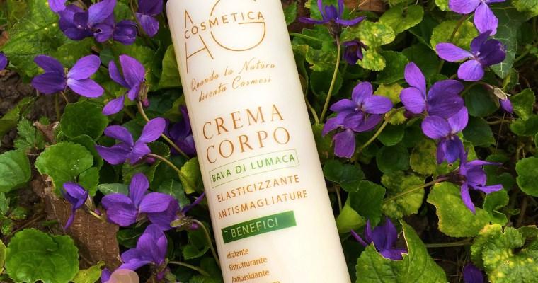 Crema corpo alla bava di lumaca – AG Cosmetica