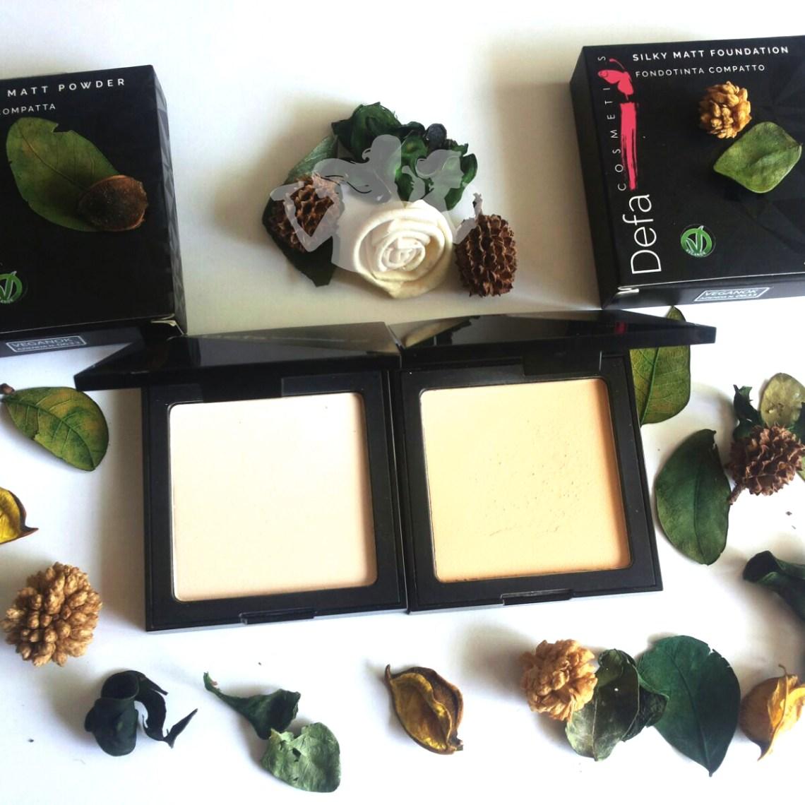 Naturalmente Bella, cipria e fondotinta Defa Cosmetics - fondotinta e cirpia