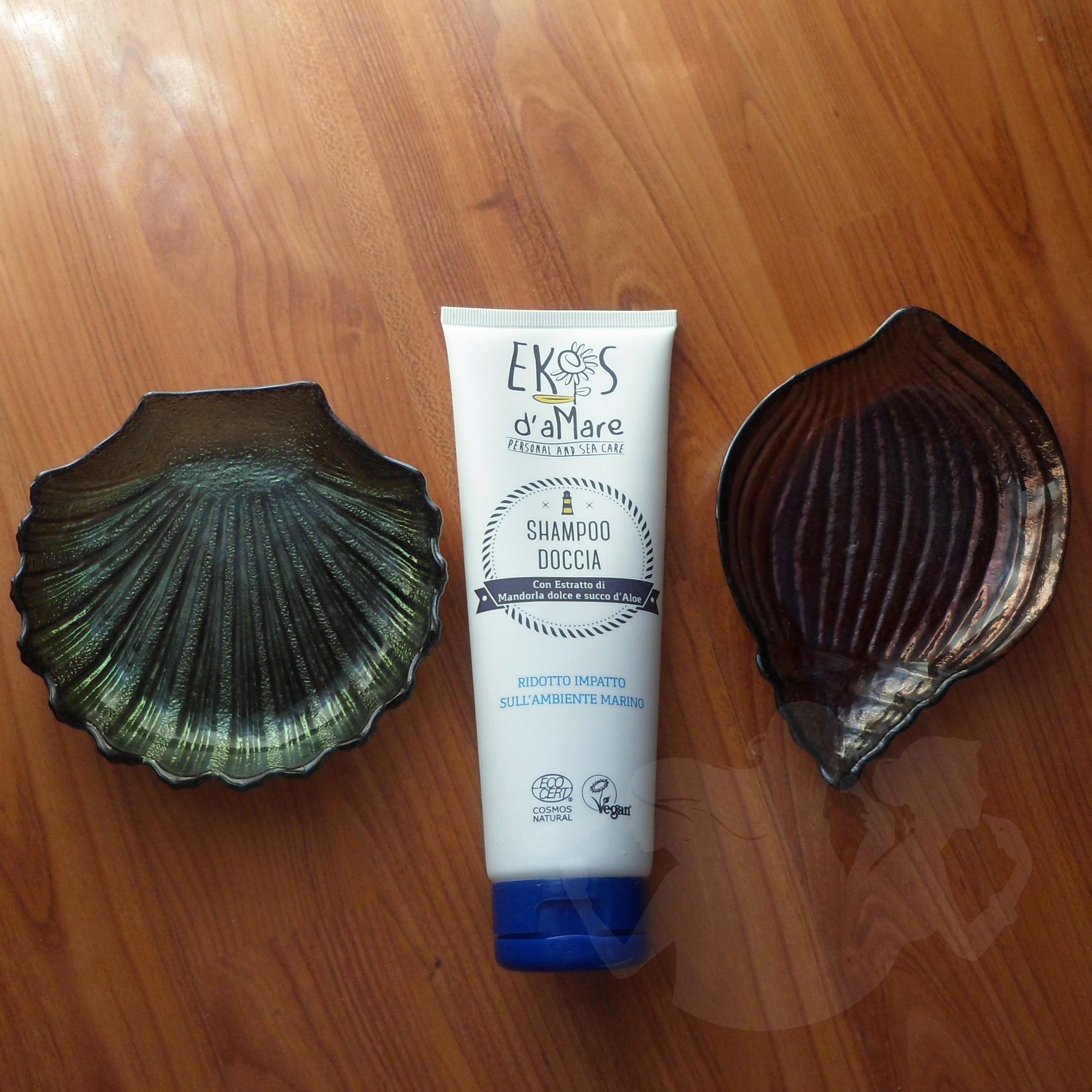 Shampoo Doccia e Balsamo d'aMare Ekos