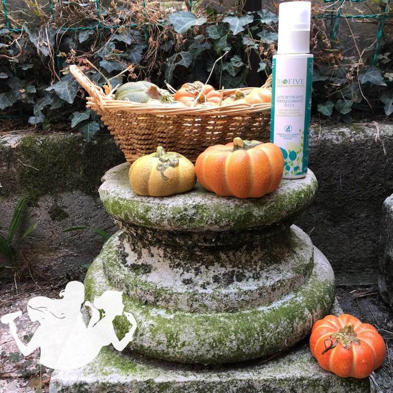 Latte detergente seboequilibrante alla zucca - Biofive